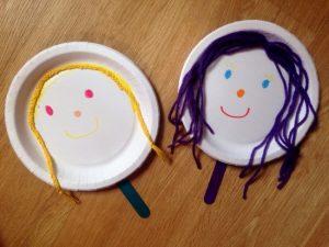 Κατασκευή για παιδιά Κούκλες και μαριονέτες στη στιγμή